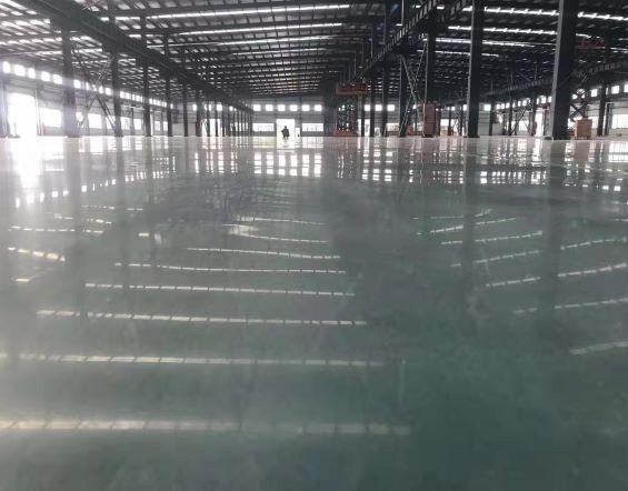 耐磨密封固化地坪